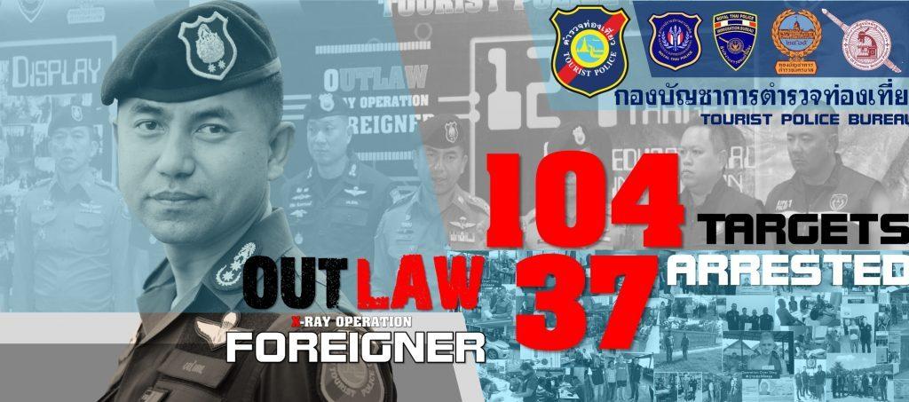 Полицейский рейд на иностранцев в Таиланде (ФОТО)