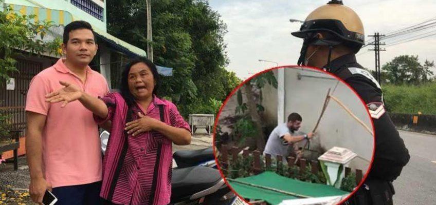 Россиянин пытался изнасиловать старушку в Таиланде (ВИДЕО)