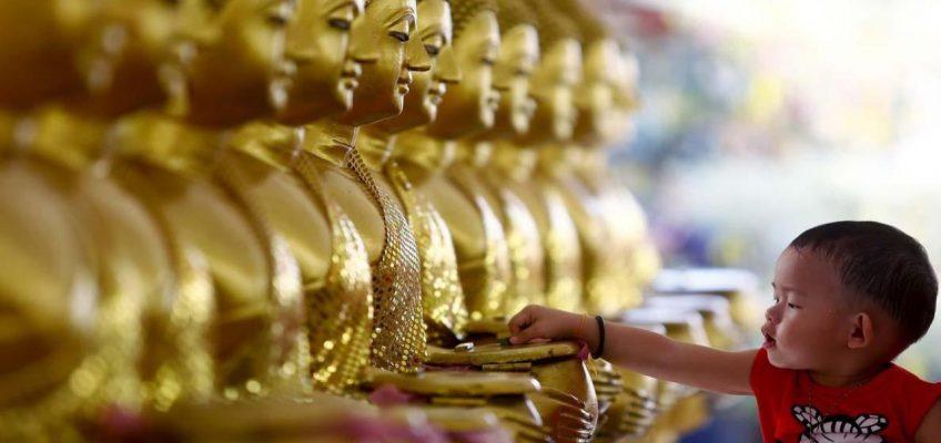 Висакха Буча в Таиланде — буддийский праздник