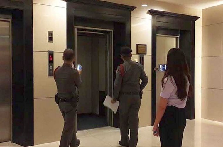 В отеле Таиланда упал лифт с 15 туристами