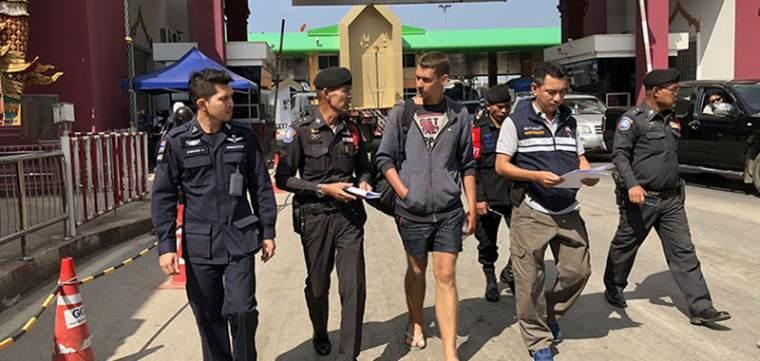 Россиянин арестован во время перехода границы из Камбоджи в Таиланд