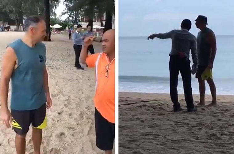 Русские туристы оккупировали частный пляж на Пхукете [ВИДЕО]