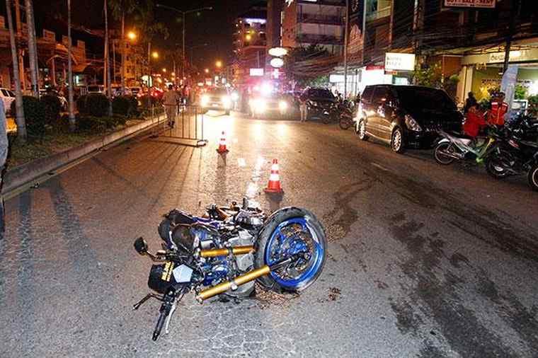 22-летний россиянин на мотоцикле погиб сам и убил 2 человек в Паттайе