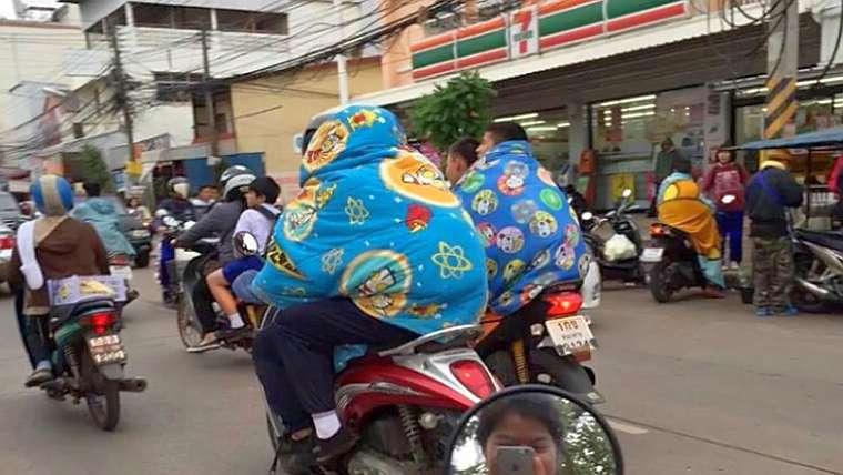 Таиланд ожидает холод с 11 по 15 января 2018
