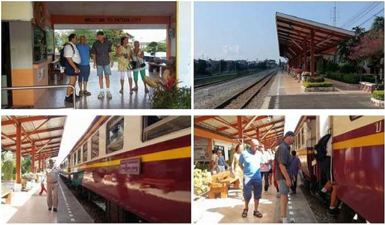Из Бангкока в Паттайю теперь можно добраться на поезде