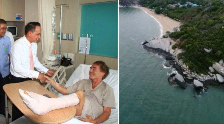 После нападения акулы на человека в Таиланде закрыли пляж