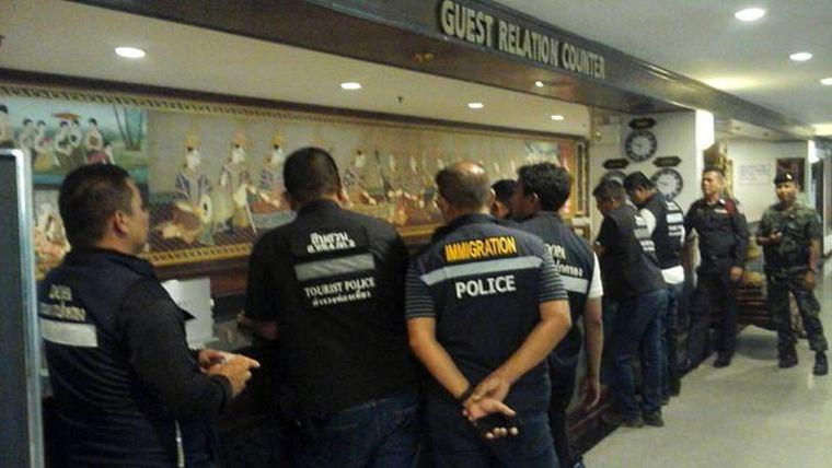 После вечеринки свингеров, арестованы владельцы 7 отелей Паттайи