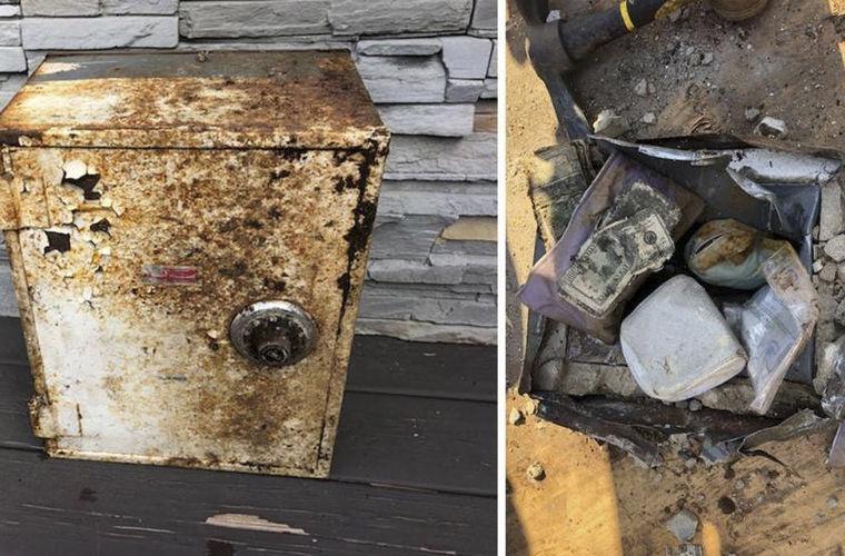 В Нью-Йорке нашли украденный семь лет назад сейф