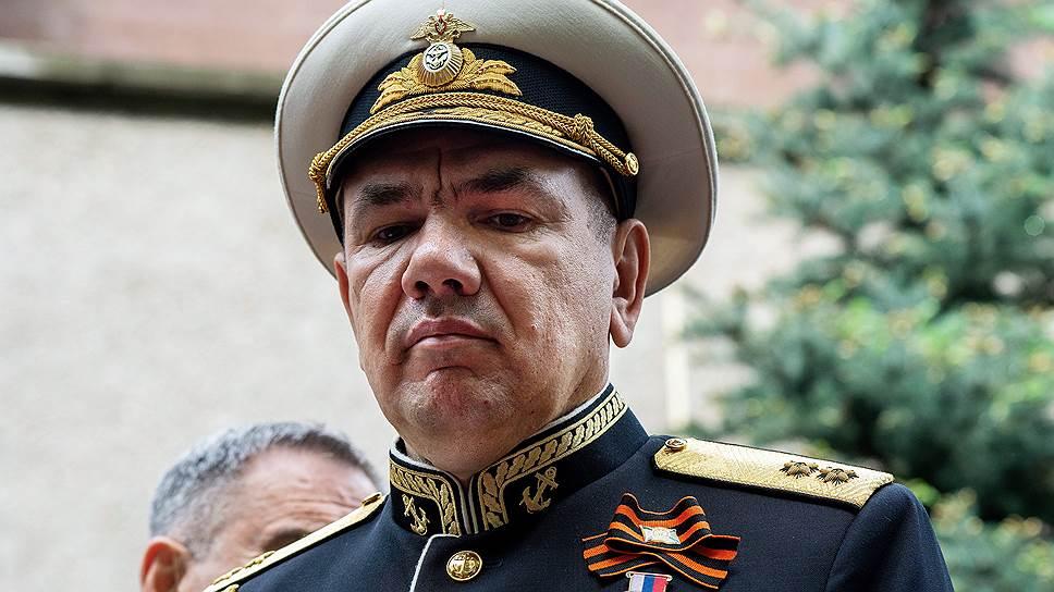 Вице-адмирал Моисеев командует Черноморским флотом с 14 мая