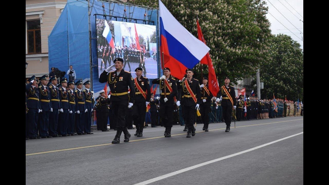 В симферопольском Параде задействовано 33 единицы военной техники