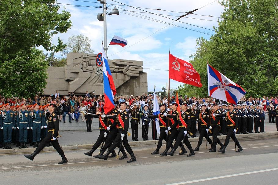 В Севастополе прошел парад Победы