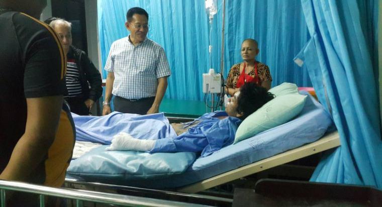 6 туристов пострадало во время массового пожара на острове Пхи-Пхи-Дон в Таиланде