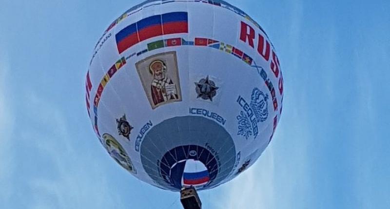 Гигантский аэростат совершил уникальный перелет через Керченский пролив