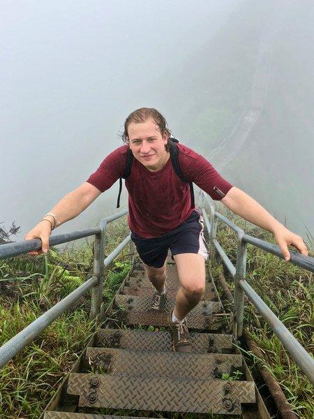 Гавайи. Лестница в небо