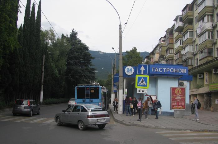 Схема дорожного движения в Ялте скорректирована на период курортного сезона