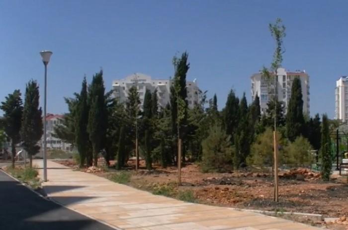 В Севастополе разворовывают новый парк
