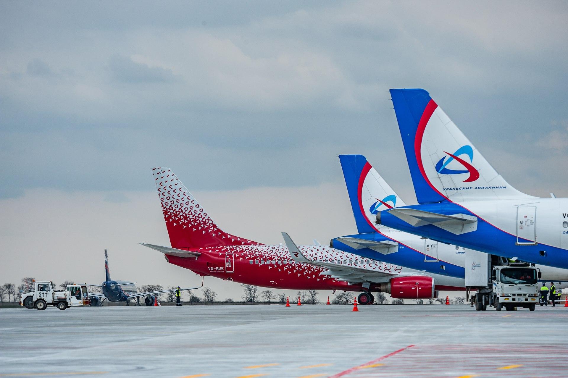 Пассажиропоток аэропорта Симферополь вырос на 8% с начала года