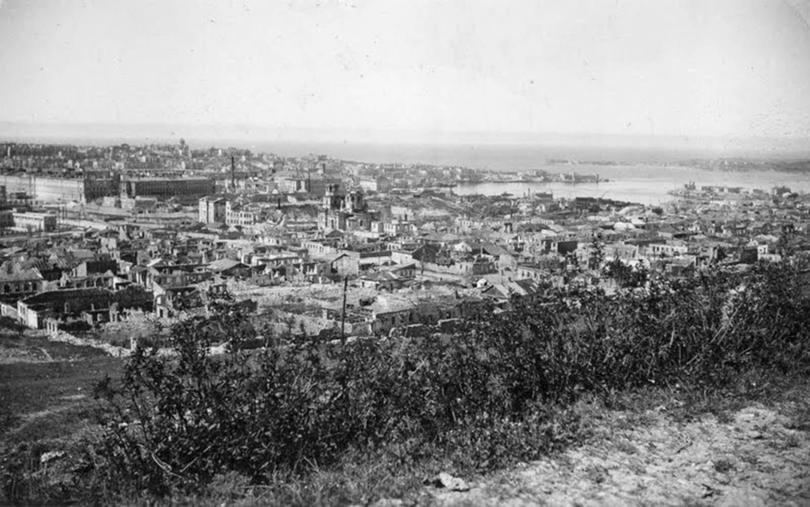 Севастополь. Вид с Малахова кургана
