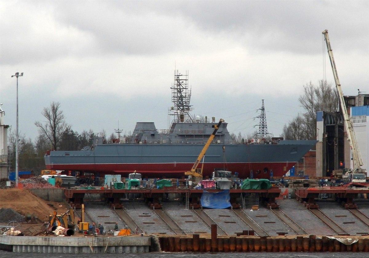 Черноморский флот пополнится новейшим кораблем противоминной обороны