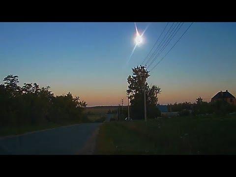 Над Россией взорвался метеорит