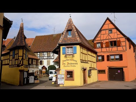 Живописные деревеньки Эльзаса