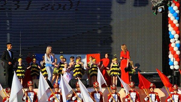 Симферополь празднует свое 234-летие