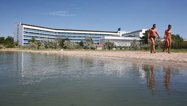 Крымский город Саки стал самым популярным курортом минеральных вод