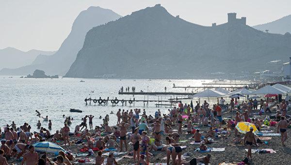Крым вошел в активную фазу курортного сезона