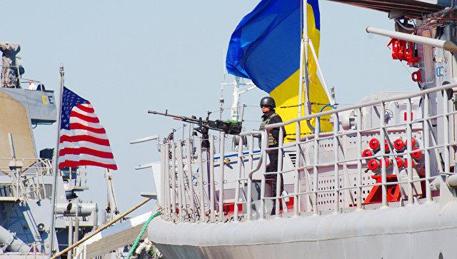 Украина провела учения в Азовском море