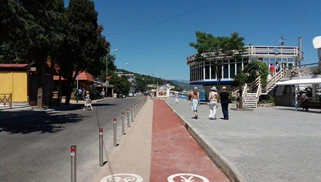 В Алуште открылась самая протяженная набережная Крыма