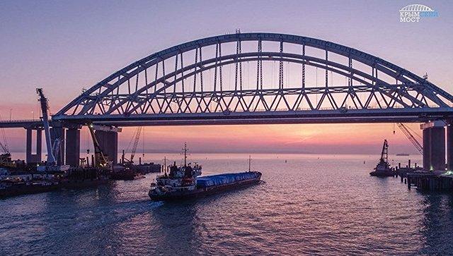 Аксенов: Крымский мост стал новой визитной карточкой полуострова