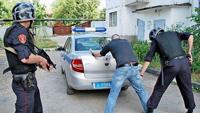 В Симферополе вор-гурман попытался обокрасть магазин