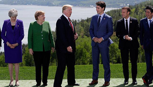 Трамп на встрече с лидерами G7 заявил, что Крым - российский, пишут СМИ