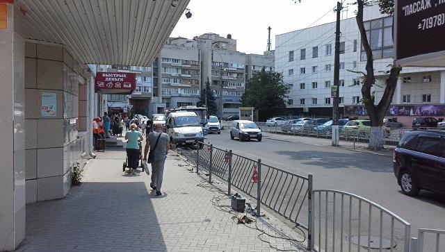 Власти Симферополя ликвидировали остановку маршруток у ЦУМа