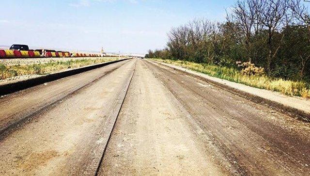 Подрядчик начал демонтаж старого асфальта на Керченской трассе