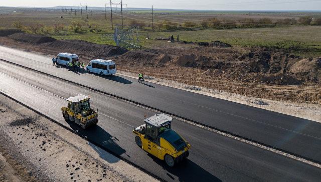 Новый участок трассы «Таврида» открылся в районе Белогорска