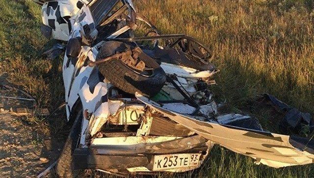 Лобовое ДТП на керченской трассе: один человек погиб, трое в больнице