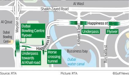 Новая дорога в Дубае открывается 8 июня.