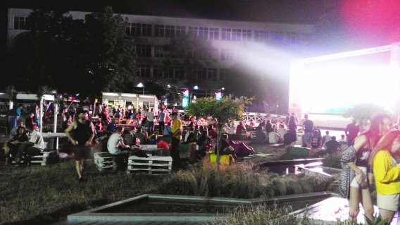 В Севастополе открыли на «Ивушке» фан-зону Чемпионата мира по футболу