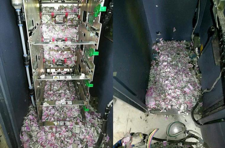 Индийские крысы съели более 1 млн рупий в банкомате