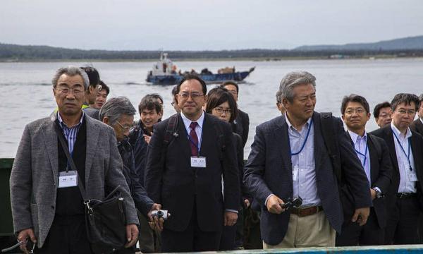 Группа японцев впервые в этом году отправилась на Итуруп по безвизовому обмену