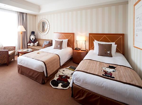 Снупи-отель открывается в японском Кобе