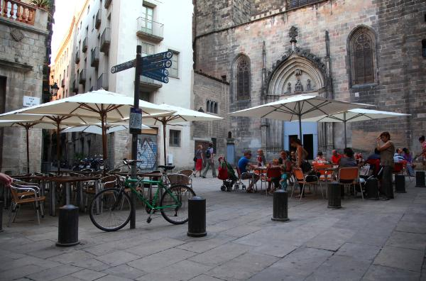 Почти половина туристов, приезжающих в Барселону, выбирают это направление не в первый раз