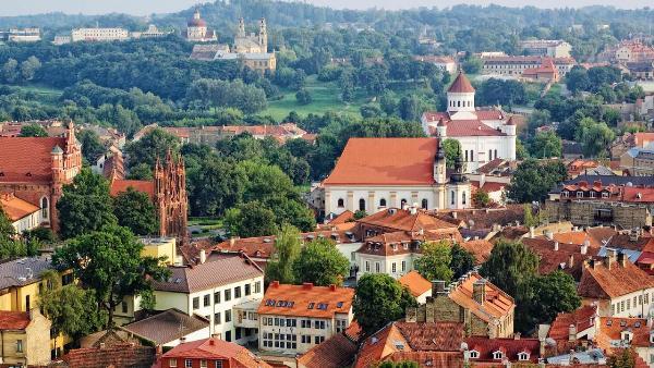 Больше всего туристов в Литву приезжает из Беларуси и России
