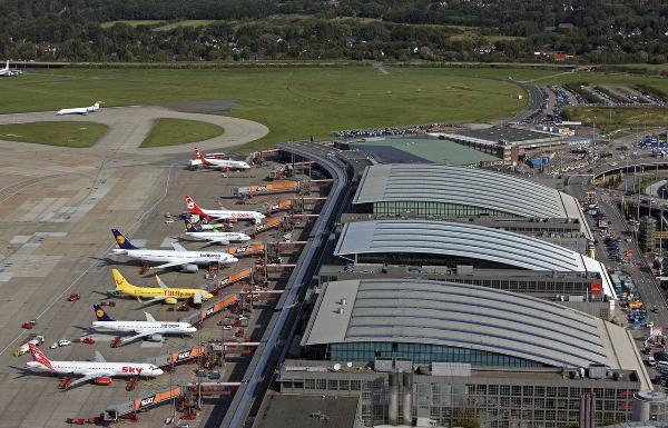 Гамбургский аэропорт остановился из-за сбоя электроснабжения
