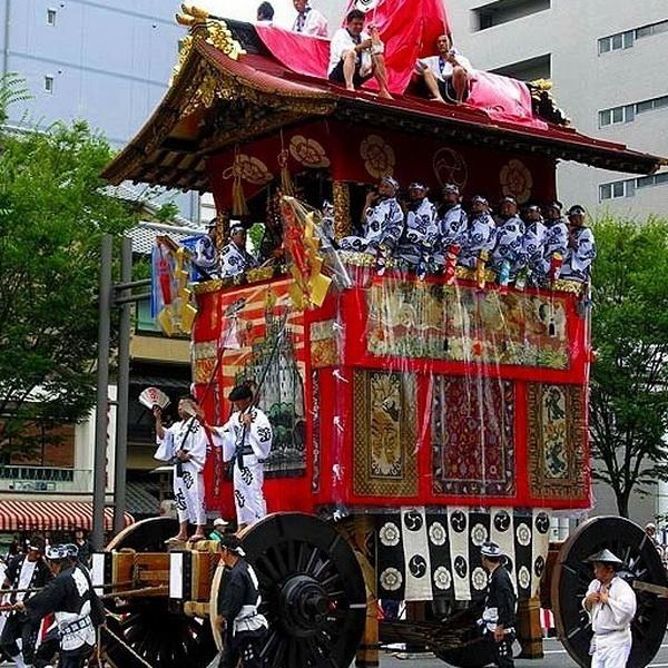 Киото отметит летний праздник Гион Мацури