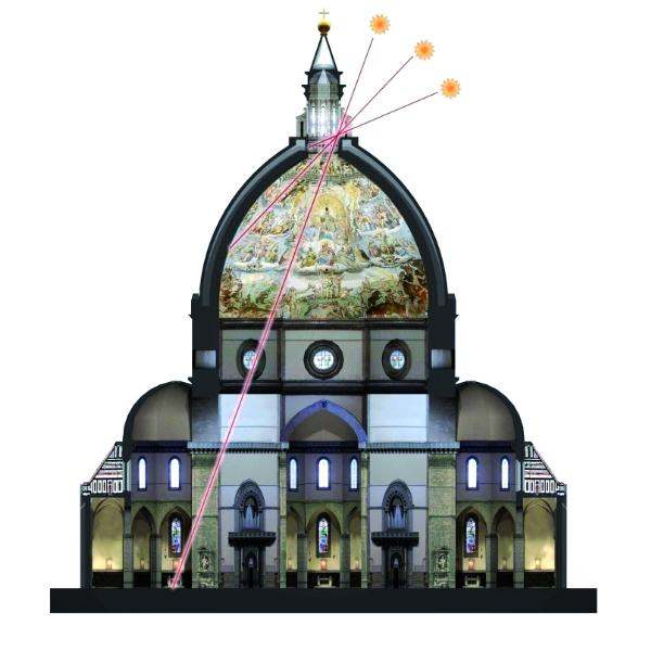 Во флорентийский собор вернулось солнце