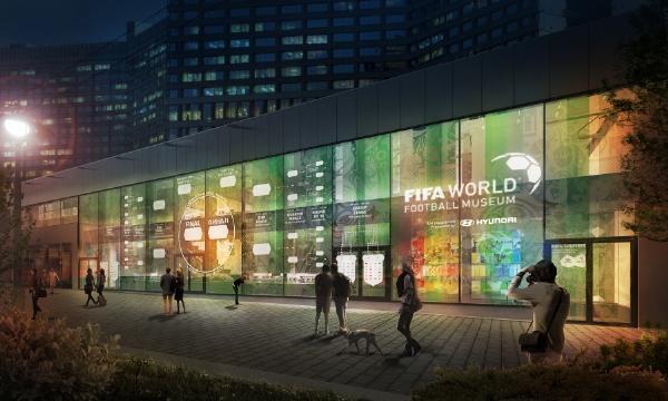 В Москве открылась экспозиция Музея мирового футбола ФИФА