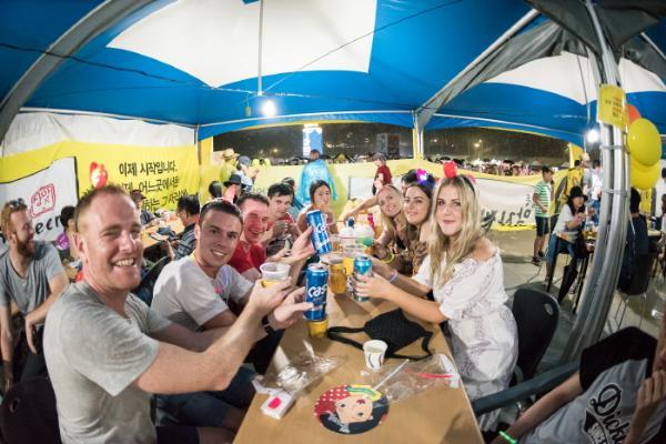 Летние фестивали пива в Южной Корее