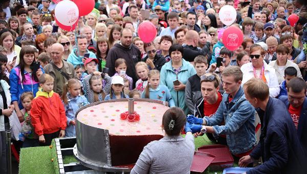 В Тверской области изготовили самый большой в России мармелад